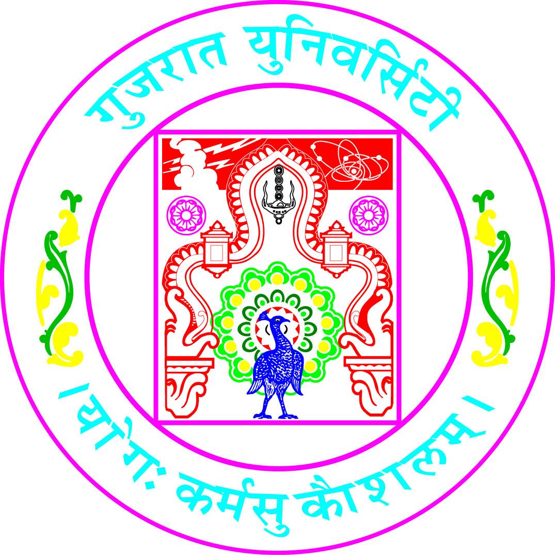 Gujaratuniversity logo